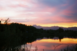 meeker and pond sunset (1)