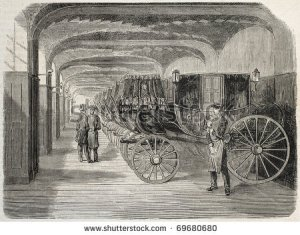 stock-photo-antique-illustration-of-carriage-house-original-from-drawing-of-gaildrau-was-published-on-l-69680680
