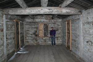 log cabin, arthur NE