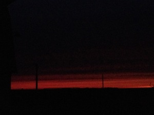 """A sunrise that reminds me to """"Dare Greatly!"""""""