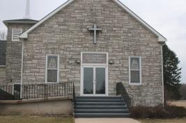 Iowa Church by Barb